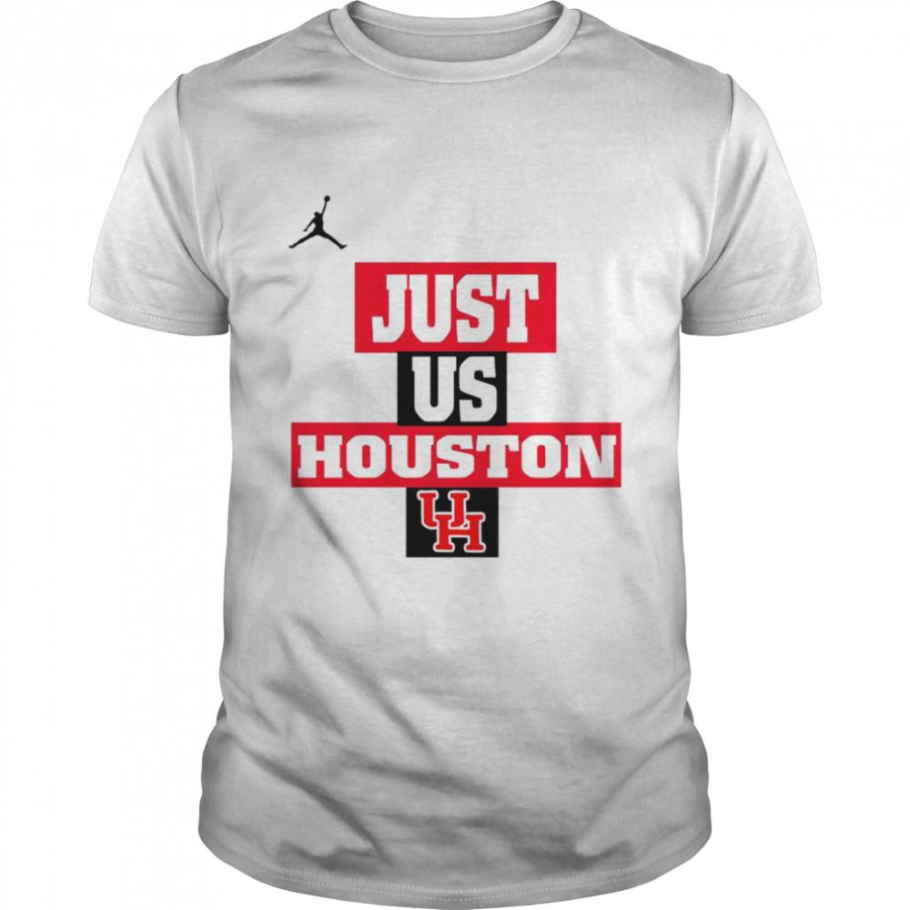 Houston Cougars Jordan Just Us Houston shirt Classic Men's T-shirt