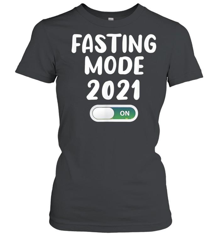 Ramadan fasting mode fasting muslim ramadan 2021 shirt Classic Women's T-shirt