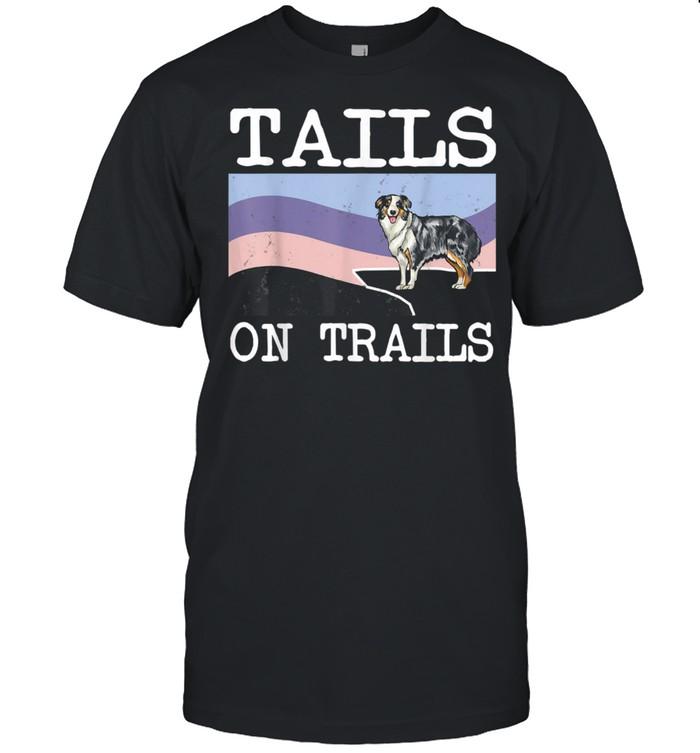 Tails On Trails Dog Hiking shirt