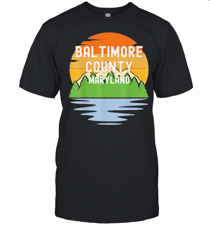 From baltimore county maryland vintage shirt Classic Men's T-shirt