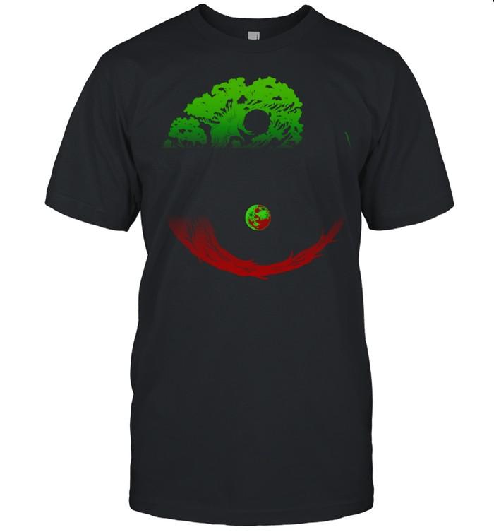 Yin Yang Bonsai Tree Japanese Gardening Zen Buddhist Shirt