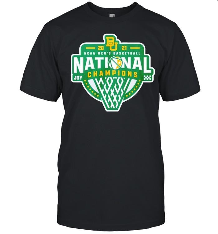 Baylor Bears 2021 NCAA men's basketball national champions JOY shirt