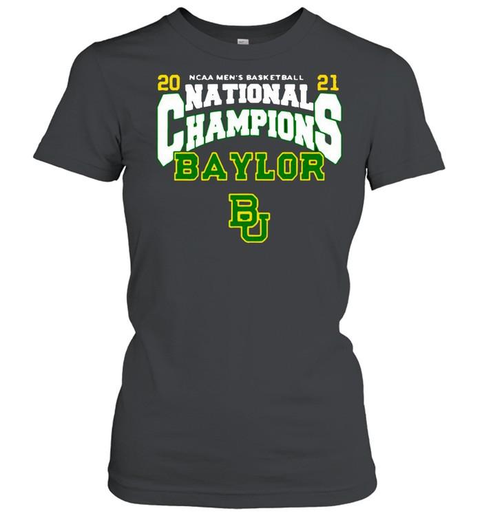 BU Baylor Bears 2021 NCAA Men's Basketball National Champions Posterize Bracket shirt Classic Women's T-shirt