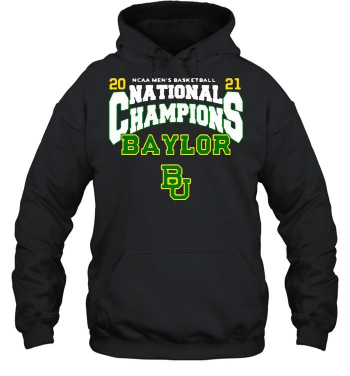 BU Baylor Bears 2021 NCAA Men's Basketball National Champions Posterize Bracket shirt Unisex Hoodie