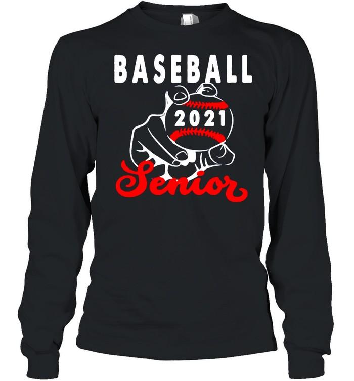 Baseball senior 2021 shirt Long Sleeved T-shirt