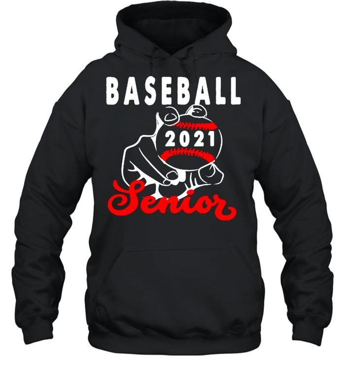Baseball senior 2021 shirt Unisex Hoodie