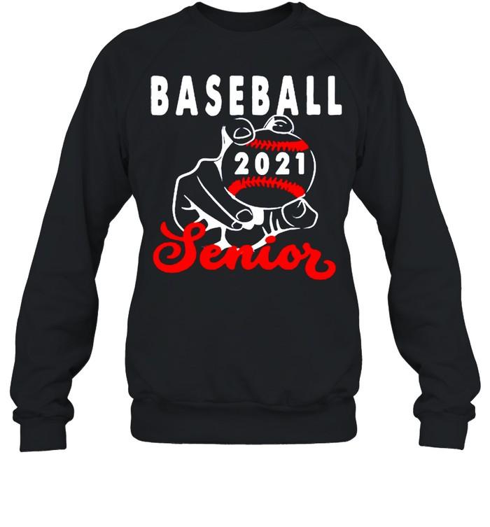 Baseball senior 2021 shirt Unisex Sweatshirt