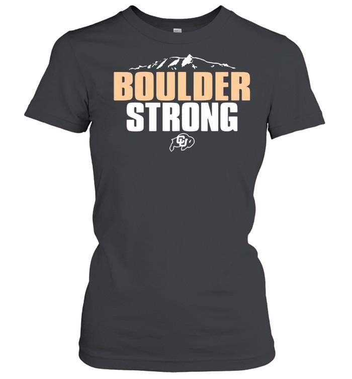 Colorado Buffaloes Boulder Strong shirt Classic Women's T-shirt