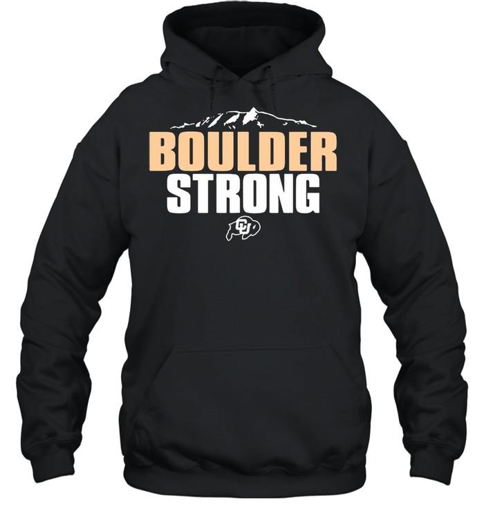 Colorado Buffaloes Boulder Strong shirt Unisex Hoodie
