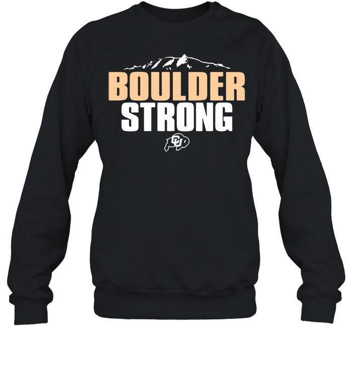 Colorado Buffaloes Boulder Strong shirt Unisex Sweatshirt