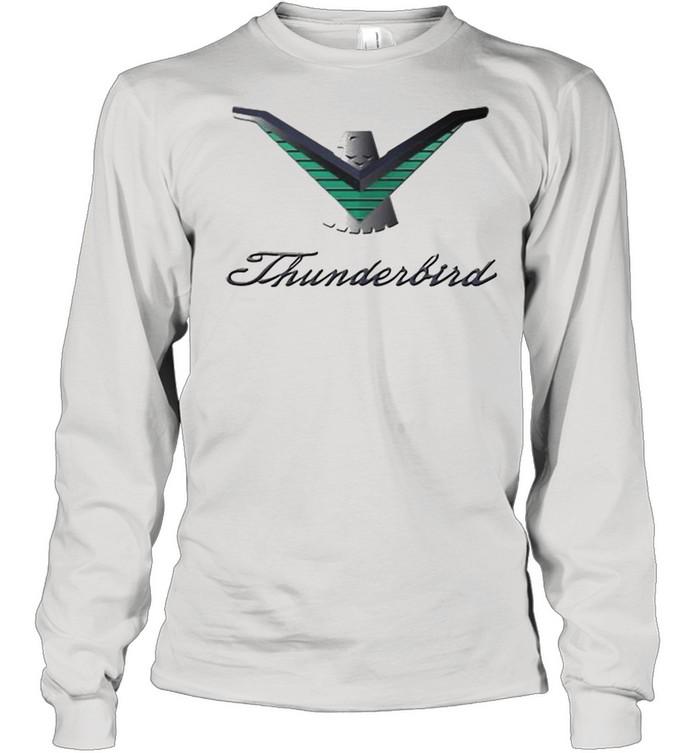 Ford Thunderbird Neon Sign Black 224  Long Sleeved T-shirt