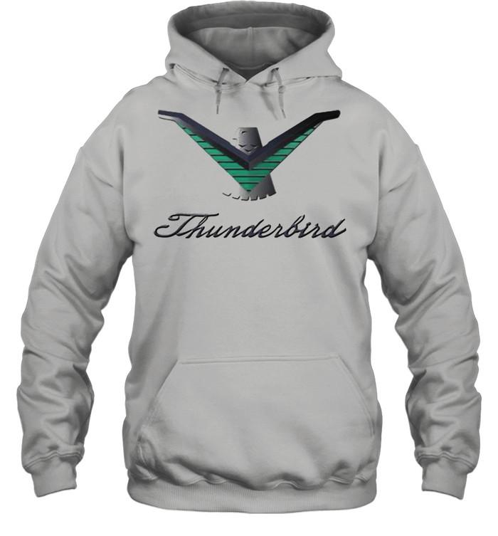 Ford Thunderbird Neon Sign Black 224  Unisex Hoodie