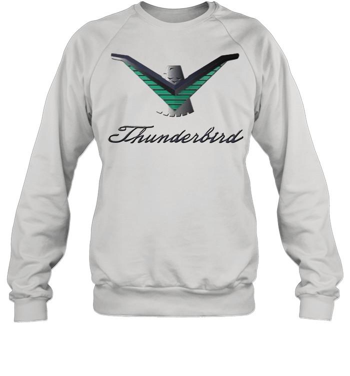 Ford Thunderbird Neon Sign Black 224  Unisex Sweatshirt