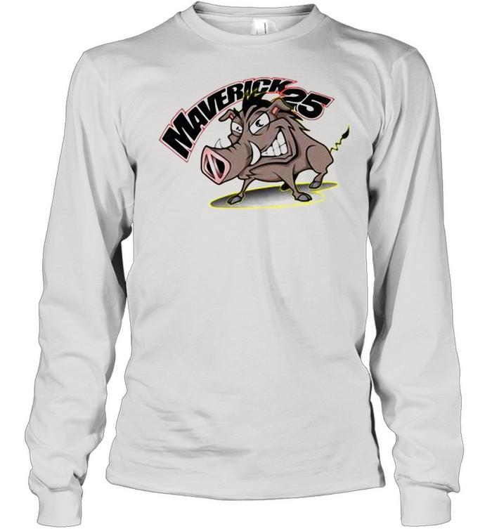 Maverick Vinales Pumbaa Speed Sports  Long Sleeved T-shirt