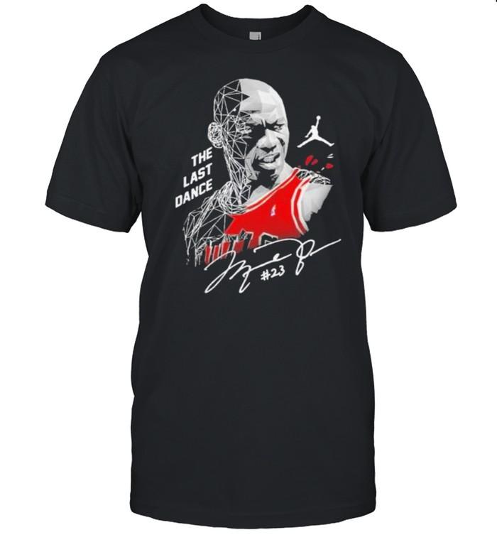 Michael Jordan The Last Dance Signature shirt Classic Men's T-shirt