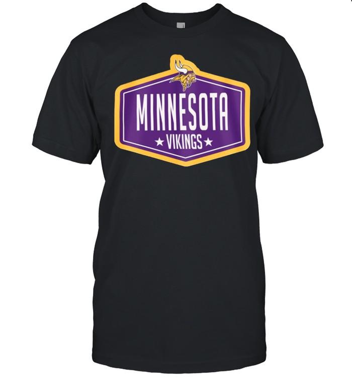 minnesota vikings new era 2021 nfl draft hook shirt