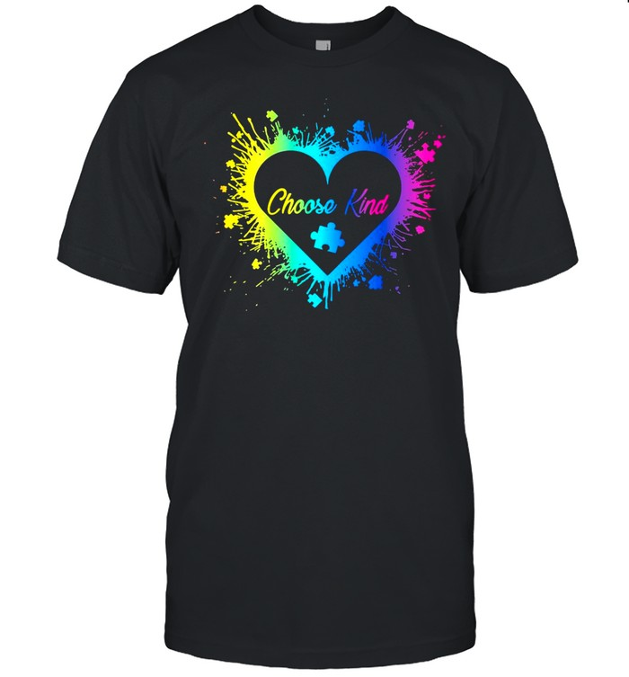 utism Choose Kind T-shirt