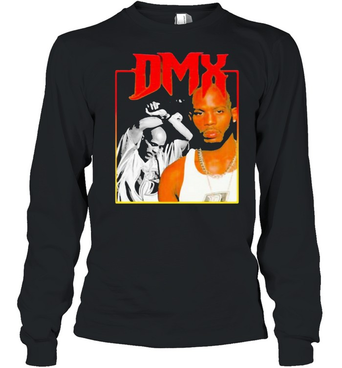 Dmx Rap Hip Hop Music  Long Sleeved T-shirt
