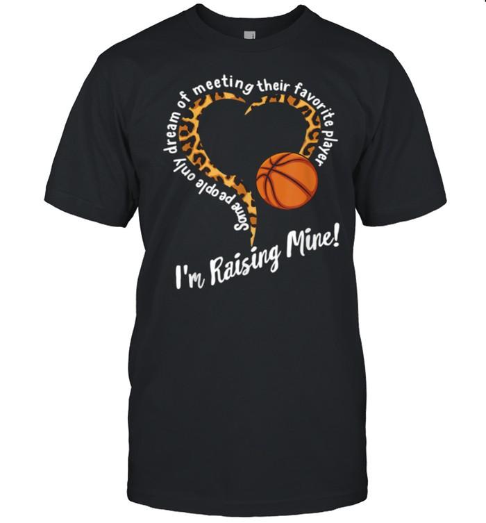 Gift for mom mother dayBasketball MomLeopard shirt