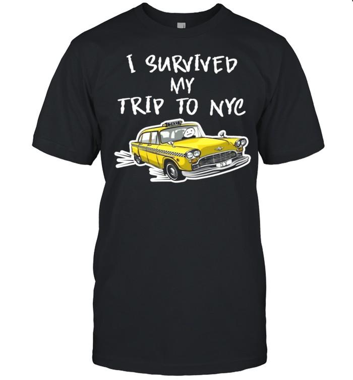 I survived my trip to NYC shirt Classic Men's T-shirt