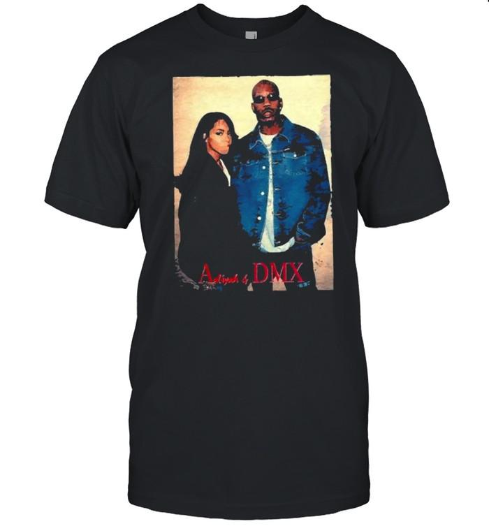 Vintage 90s Aaliyah With DMX Dogg Shirt