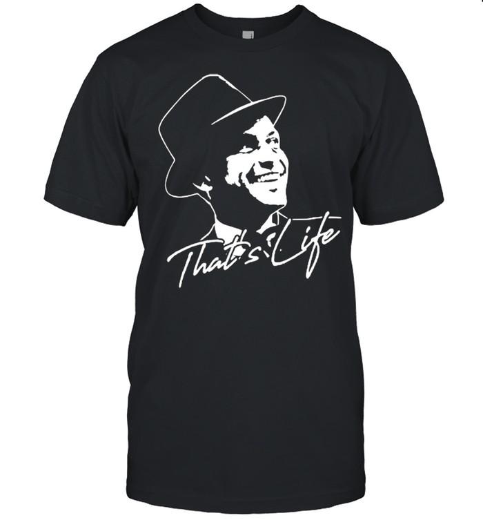 That's Life Essential Distressed Love Frank Art Sinatra  Classic Men's T-shirt