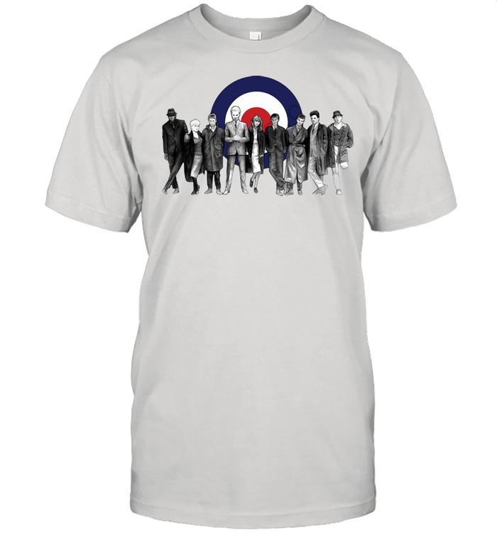 The Cast Of Quadrophenia T-shirt