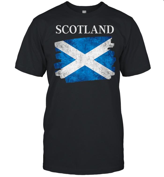 Scotland flag Scottish heritage pride shirt
