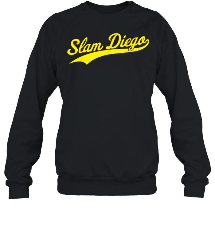 San Diego SD Slam Diego Script  Unisex Sweatshirt