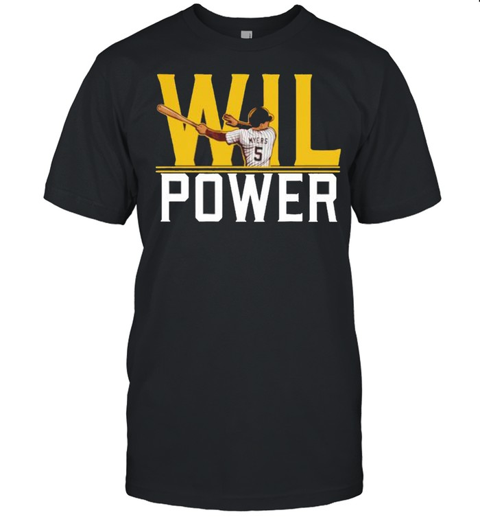 Wil Myers Wil power San Diego Padres shirt Classic Men's T-shirt
