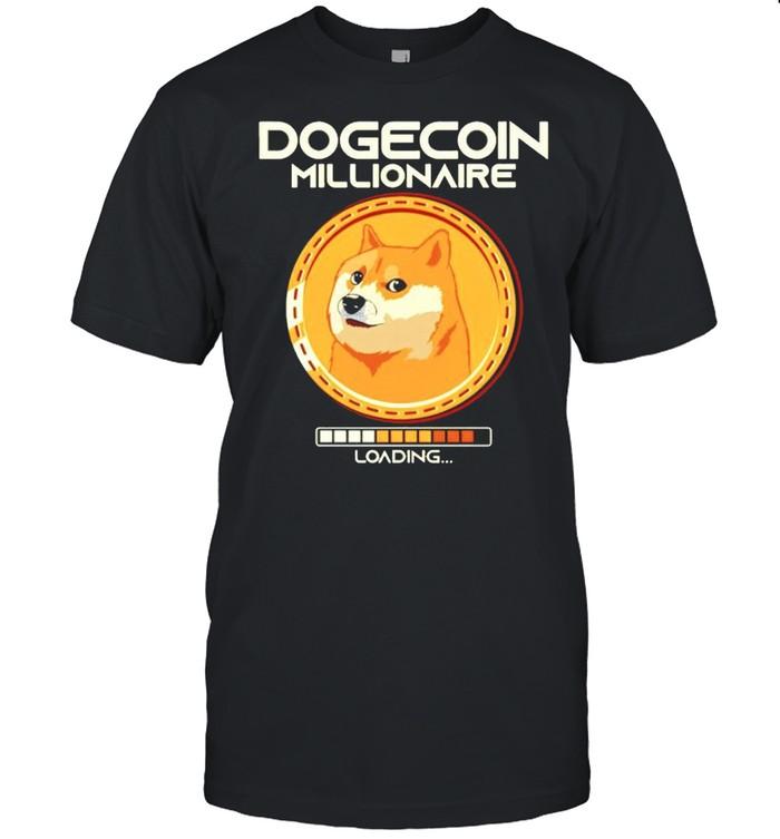 Dogecoin Millionaire Loading shirt Classic Men's T-shirt