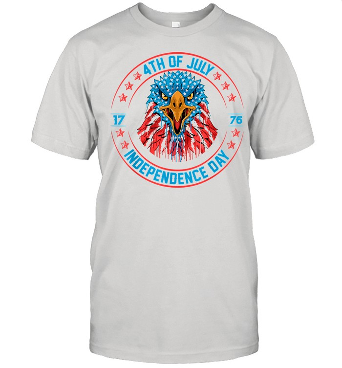 Fourth of July Flag Eagle Independence Day American Shirt