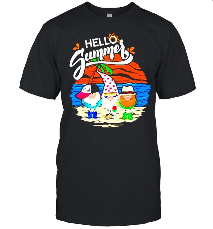 Gnomes Hello Summer shirt Classic Men's T-shirt