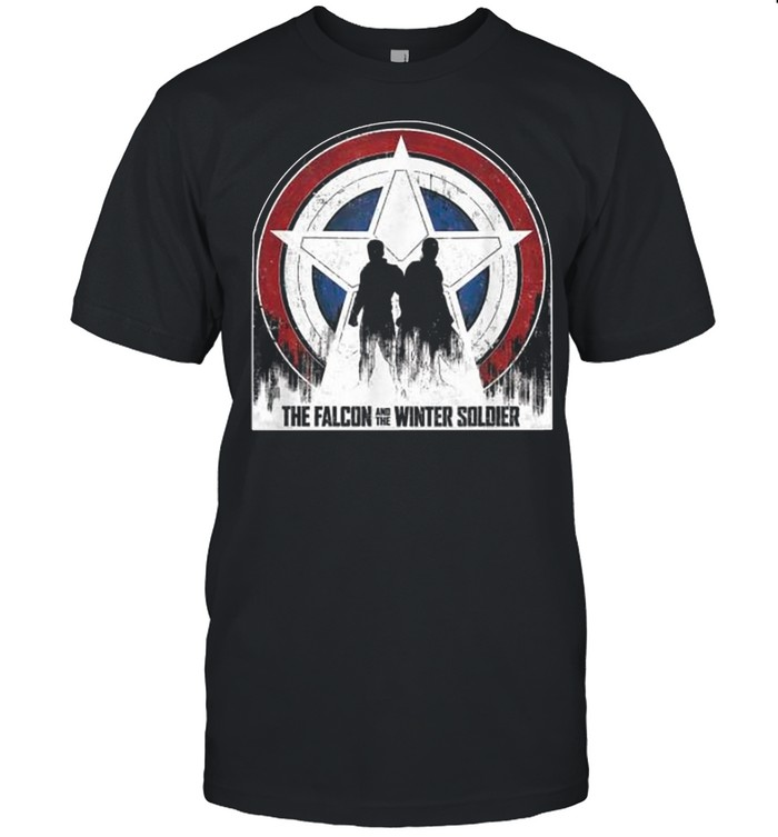 Marvel The Falcon And The Winter Soldier Silhouettes shirt Classic Men's T-shirt