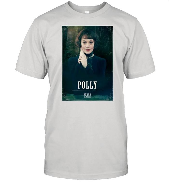 Peaky Blinders Polly Gray Rip Helen Mccrory Shirt