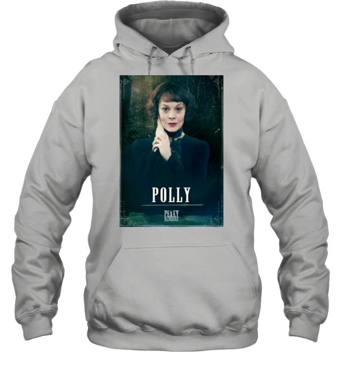 Peaky Blinders Polly Gray Rip Helen Mccrory  Unisex Hoodie