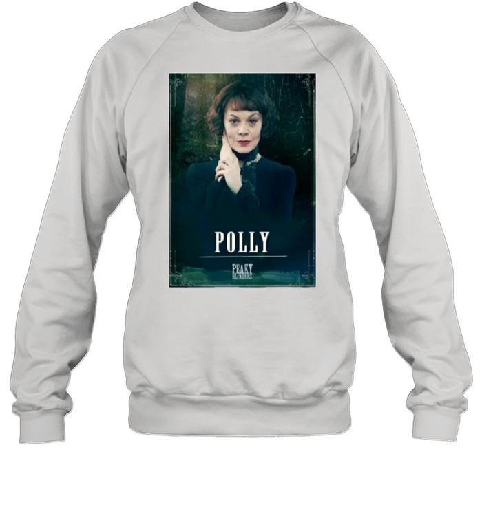 Peaky Blinders Polly Gray Rip Helen Mccrory  Unisex Sweatshirt