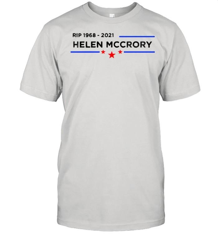 Rip 1968 2021 Helena Mccrory Stars Blue Line  Classic Men's T-shirt