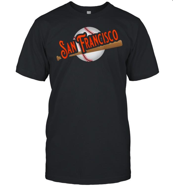 San Francisco Baseball Fans  Classic Men's T-shirt