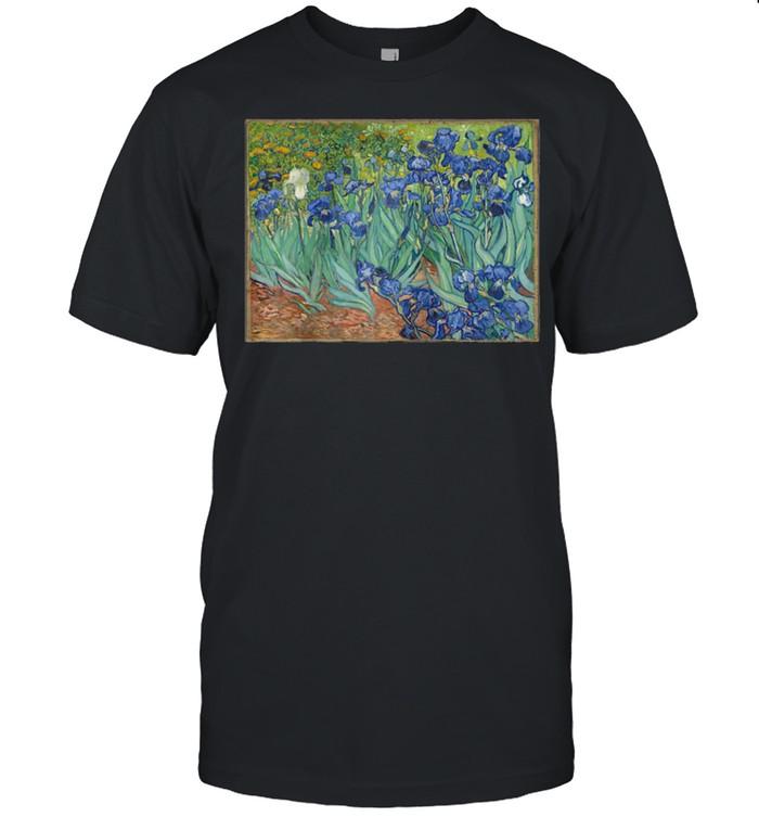 Vincent van Gogh's Irises shirt