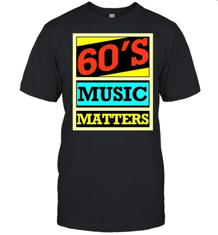 60's music matters vintage shirt