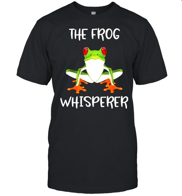 The Frog Whisperer t-shirt