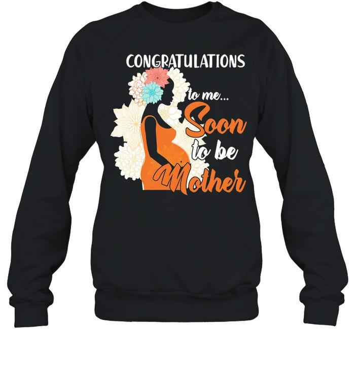 Congratulations to mr soon to her mother shirt Unisex Sweatshirt