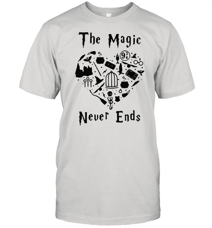Harry Potter The Magic Never Ends T-shirt