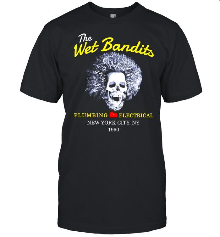 The Wet Bandits Plumbing Electrical New York City Ny 1990 Shirt