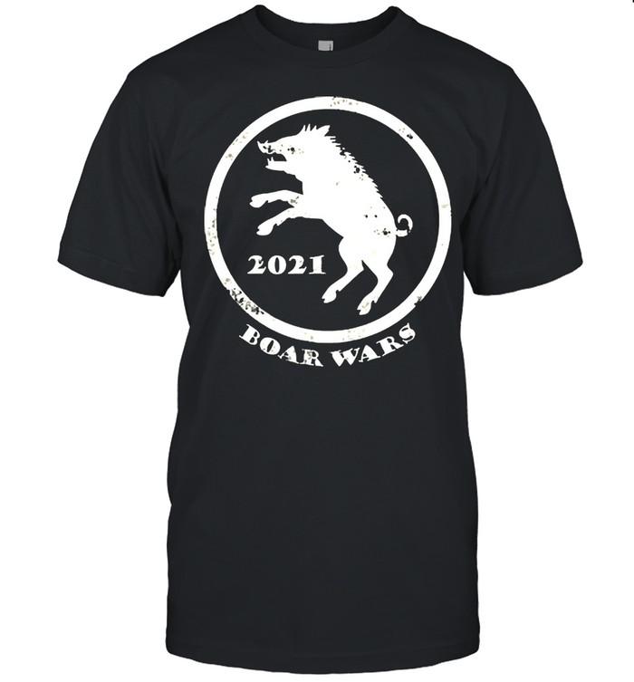 Boar wars 2021 boise idaho pork cookoff shirt
