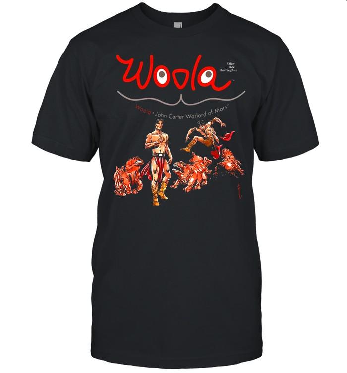 Woola John Carter Warlord Of Mars T-shirt