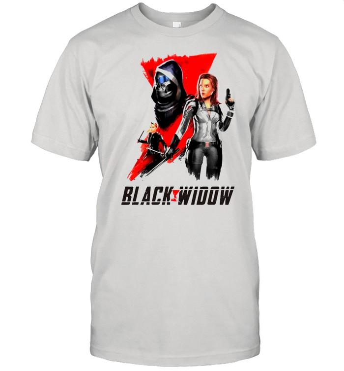 Marvel Black Widow shirt