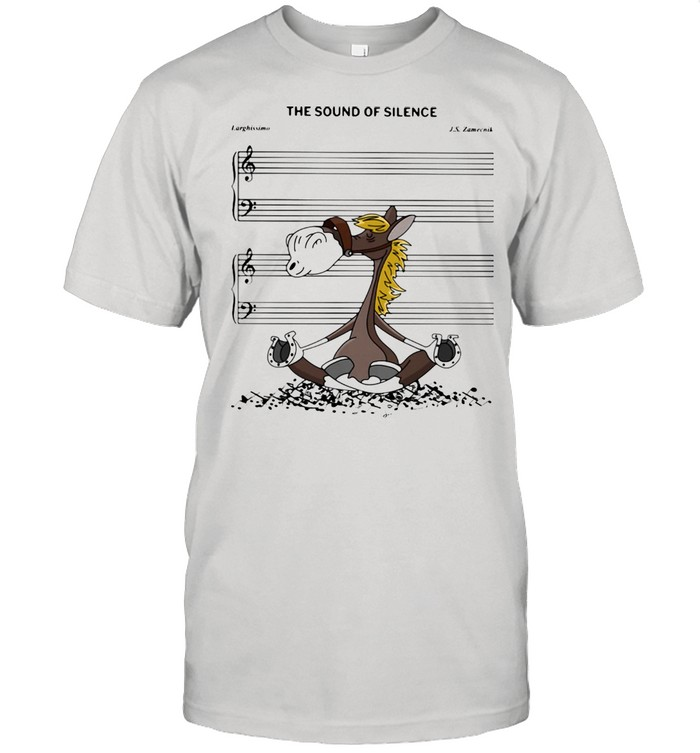 The Sound Of Silence Horse Shirt