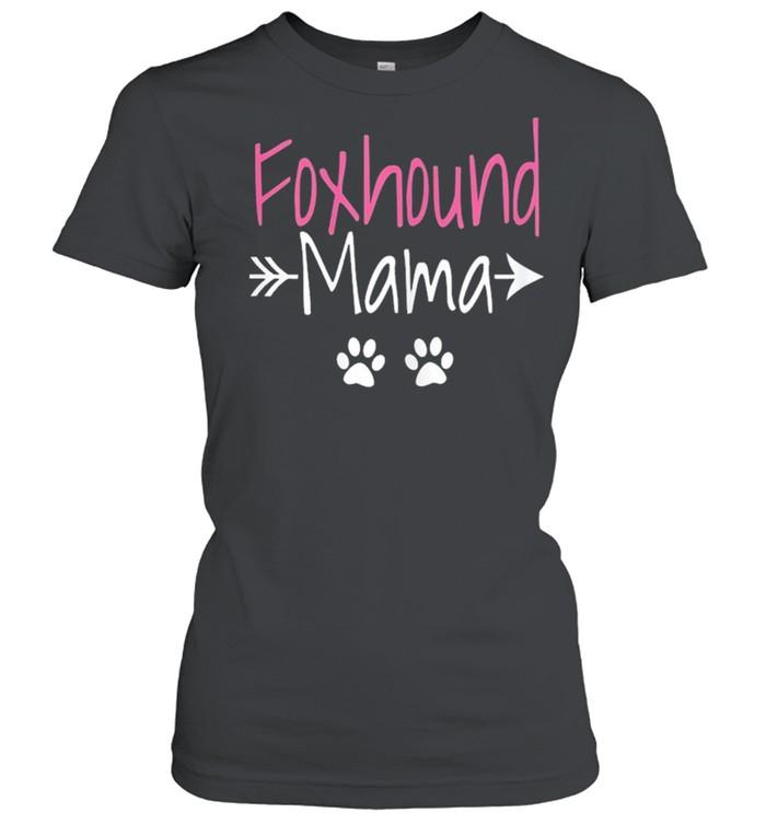 Foxhound mama American foxhound mom shirt Classic Women's T-shirt